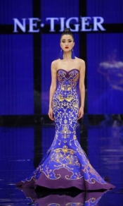 NE-TIGER Haute Couture Show Opens China International Fashion Week