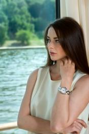 Marina Alexandrova, ambassador of Baume & Mercier