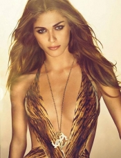 Elisa Sednaoui, the face of Roberto Cavalli Fragrance