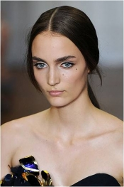 Nina Ricci hairstyle at Paris Fashion Week SS 2012