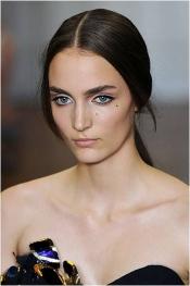 Nina Ricci coiffures a Paris Fashion Week SS 2012