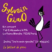 New song lines from Sylvain Giro