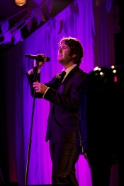 Josh Groban performs at Haiti Gala