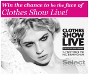 The search for The Face of Clothes Show Live 2012