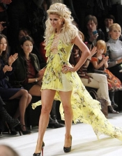 Celebrity style guide - Paris Hilton hits the Runway for the 29th edition of Ukrainian Fashion Week
