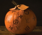 Louis Vuitton and Alexander McQueen pumpkins