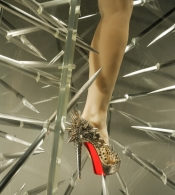 20 years of Christian Louboutin shoes