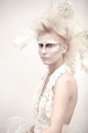 Fashion runway White Swan