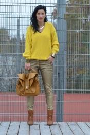 Golden jeans