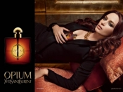 Emily Blunt, the new face of YSL Opium perfume