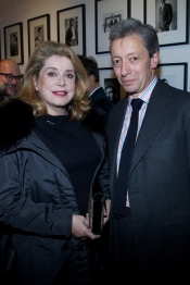 Catherine Deneuve at the book launching of Frédéric Malle