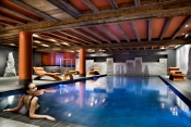 The Swiss luxury hotel of Tignes