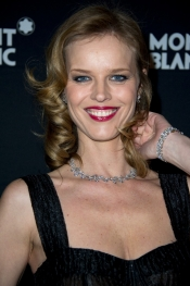 Watches for women - Eva Herzigova presents the new watch and jewel Montblanc Collection
