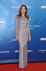 Angelina Jolie at Cinema for Peace Gala