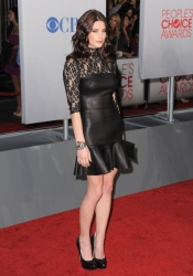 Ashley Greene in DKNY dress at People's Choice Awards