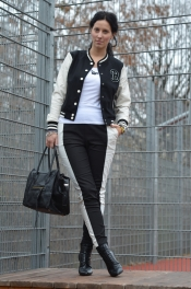 H&M jacket and pants