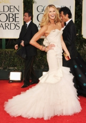 What the stars wore at 2012 Golden Globe Awards