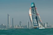Spectacular sprint finish to leg 2 of the Volvo Ocean Race