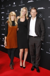 Icons of style, Alex Prager and Lara Stone for Mercedes Benz Fashion Show