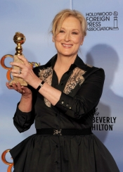 Meryl Streep won Golden Globes Award with Jaeger-LeCoultre