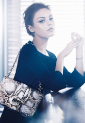 Mila Kunis is the new face for Christian Dior
