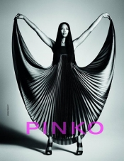 Naomi Campbell for Pinko Ad Campaign 2012