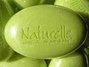 Argan soap from Naturelle d'Orient