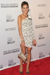 Sarah Jessica Parker in Stella McCartney lace dress
