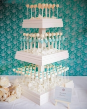 Cake Pop Tower: The New Wedding Cake Craze?
