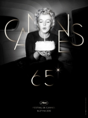 Marylin Monroe, the icon of the 65th edition of Cannes Festival