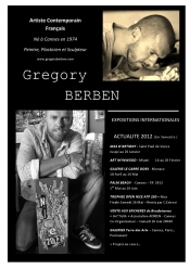 Gregory Berben, an artist like no other