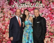 Bianca Balti at Signorina launch party by Salvatore Ferragamo