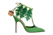Designer shoes - Manolo Blahnik new collection at Liberty in London