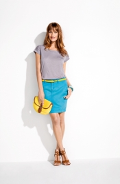 In style trends - Color block trend for this summer