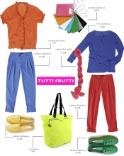 Shopping liste color block