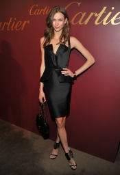 Karlie Kloss at Cartier Cocktail Reception