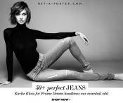 Shopping trend: Mario Testino for MATE, Karlie Kloss for Frame Denim