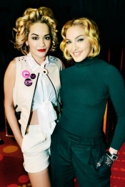 Rita Ora is the Material Girl for Madonna