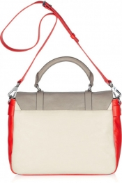 Latest fashion trends - Marc Jacobs' color-block leather satchel