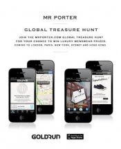 Chasse au tresor a Paris de MrPorter.com