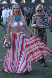 Best dressed celebrities at Coachella 2012