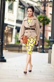 Midi dress & vintage Celine