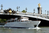 Madonna on Paris Yacht