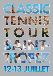Many celebrities at Classic Tennis Tour St Tropez