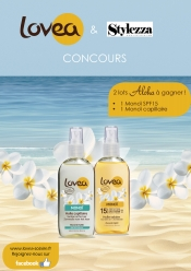Win beauty products - Monoï suntan oil for hair and body
