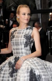 Diane Kruger, the star from this year Cannes Film Festival