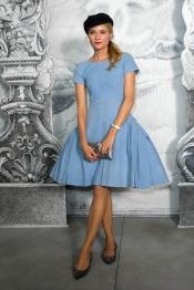 Diane Kruger en Chanel au Fashion Week Paris