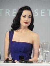Makeup collaboration Dita Von Teese