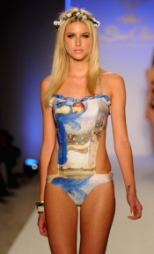 Lisa Blue Swimwear Runway Photos 2012