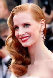 Jessica Chastain, the new YSL face